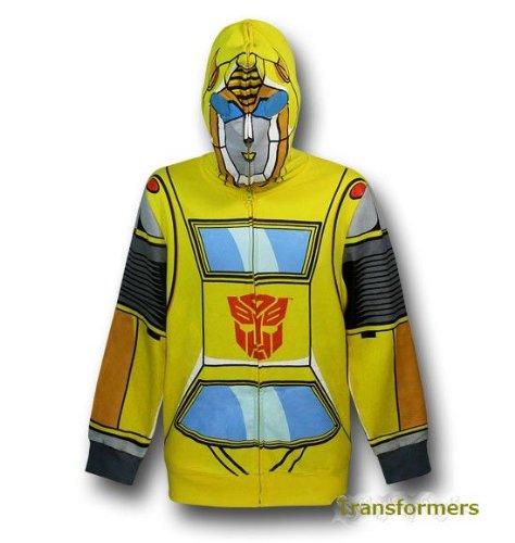 【ワケあり★激安】トランスフォーマー 裏起毛フード付パーカー 衣裳にイベントに!Transformers Autobot