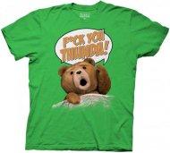 【在庫あり激安】アコチャンズ限定カラー グリーン 映画テッド Tシャツ TED ハングオーバーを超えた!?
