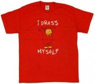 <img class='new_mark_img1' src='https://img.shop-pro.jp/img/new/icons28.gif' style='border:none;display:inline;margin:0px;padding:0px;width:auto;' />生産終了☆シンプソンズTシャツ Simpsons I Dress Myself  Homer ホーマー ラルフ