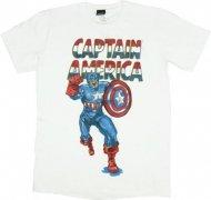 【僅か在庫あり】キャプテンアメリカ ソフトタイプ Tシャツ マーベルコミック Captain America shirt