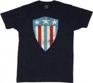 【僅か在庫あり】キャプテンアメリカ ソフトタイプ TシャツFirst Shield アメコミ アベンジャーズ
