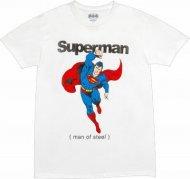 【在庫のみで終了!】スーパーマン Tシャツ コスプレ・パーティー衣装に アメコミ正規ライセンス