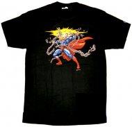 【僅か在庫有りで完全終了!】Chains Break Superman スーパーマン正規Tシャツアメコミ DCコミック<img class='new_mark_img2' src='https://img.shop-pro.jp/img/new/icons31.gif' style='border:none;display:inline;margin:0px;padding:0px;width:auto;' />