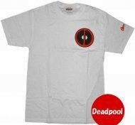 【MDead】デッドプールTシャツDeadpool 衣装に アメコミ正規ライセンスアイテムマーベル