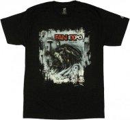 【Sのみ在庫あり】バットマン Tシャツ 【Fan Expo 2012 レア! Vintage Logo】 Batman DCコミック