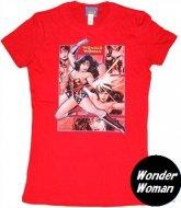 【Mのみ在庫あり】ワンダーウーマンTシャツ Wonder Woman Rectangles  コスプレ・パーティー衣装に