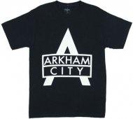 <img class='new_mark_img1' src='https://img.shop-pro.jp/img/new/icons26.gif' style='border:none;display:inline;margin:0px;padding:0px;width:auto;' />【僅か在庫あり】バットマンアーカムシティ ロゴ Tシャツ Batman Arkham City Logo DCコミック アメコミ