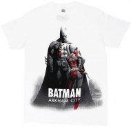 <img class='new_mark_img1' src='https://img.shop-pro.jp/img/new/icons26.gif' style='border:none;display:inline;margin:0px;padding:0px;width:auto;' />【僅か在庫あり】バットマンアーカムシティ Tシャツ Batman Arkham ハーレー DCコミック アメコミ