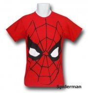 <img class='new_mark_img1' src='https://img.shop-pro.jp/img/new/icons13.gif' style='border:none;display:inline;margin:0px;padding:0px;width:auto;' />【僅か在庫あり】スパイダーマン Big Face Tシャツ Marvel Comics Spiderman コスチューム 衣裳