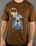 僅か在庫あり★バットマン Tシャツ 【ブラウン】  Batman DCコミック