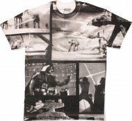 僅か在庫あり★スターウォーズ Tシャツ White & Black Collage【全面プリント】 ボバフェット トルーパー
