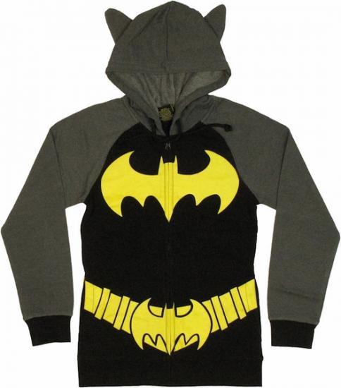 【激安★在庫のみで完全終了】バットガール 裏起毛 フード付パーカーアメコミ正規品 Batgirl Hoddie