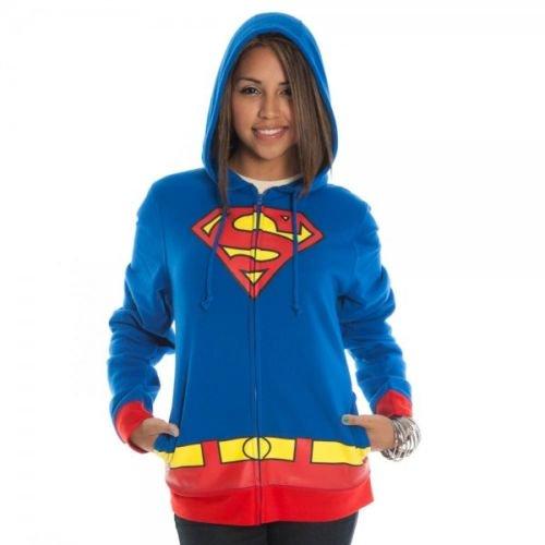 【激安★在庫のみで完全終了】スーパーガール 裏起毛 フード付パーカーアメコミ正規品 Supergirl Hoddie