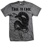 Face To Face - Snake (Heather Grey) [入荷予約商品]