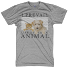 I Prevail - Like A F*cking Animal (Heather Grey) [入荷予約商品]