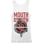 Mouth of the South - Snake (White) (Tank Top) [入荷予約商品]