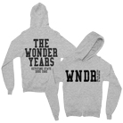 The Wonder Years - WNDR Logo (Grey) (Hoodie) [入荷予約商品]