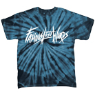 Famous Last Words - Logo (Navy Tie Dye) [入荷予約商品]