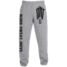 Gideon - Blood Sweat Drive (Heather Grey) (Sweatpants) [入荷予約商品]