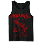 Pierce The Veil - Texas Is Forever (Charcoal/Black) (Tank Top) [入荷予約商品]