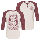 August Burns Red - Hourglass (White/Red) (Baseball) [入荷予約商品]