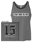 Stray From the Path - SC15 (Grey) (Tank Top) [入荷予約商品]