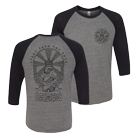 Stray From the Path - We Are the Light (Heather Grey/Black) (Baseball) [入荷予約商品]