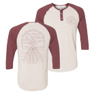 Between the Buried and Me - Celestial Highway (Red) (Baseball Henley) [入荷予約商品]