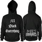 Motionless In White - All Black Everything (Hoodie) [入荷予約商品]
