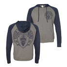 Four Year Strong - Tread (Heather/Navy) (Lightweight Zip Up Hoodie) [入荷予約商品]