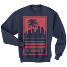 The Summer Set - Palm Tree (Heather Navy) (Sweat) [入荷予約商品]