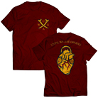 Until We Are Ghosts - Cross Bones (Maroon) [入荷予約商品]