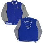 Shai Hulud - Sincerely Hated (Royal Blue/Grey) (Varsity Jacket) [入荷予約商品]