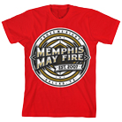 Memphis May Fire - Prove Me Right (Red) [入荷予約商品]