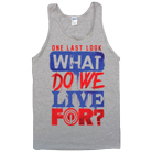 One Last Look - Live For (Heather Grey) (Tank Top) [入荷予約商品]