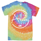 Alive Like Me - Circle (Tie Dye) [入荷予約商品]