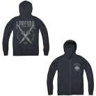 I Prevail - Scars (Grey) (Zip Up Hoodie) [入荷予約商品]