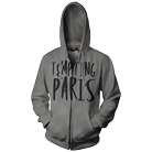 Tempting Paris - Logo (Charcoal) (Hoodie) [入荷予約商品]