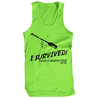 Issues - I Survived Warped 2014 (Neon Green) (Tank Top) [入荷予約商品]