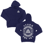 Storm The Sky - Same Graves (Navy) (Hoodie) [入荷予約商品]