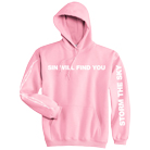 Storm The Sky - Sin Will Find You (Pink) (Hoodie) [入荷予約商品]