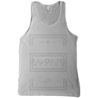 Favorite Weapon - Geometric (White) (Tank Top) [入荷予約商品]