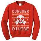 Conquer Divide - Gasmask (Red) (Sweat) [入荷予約商品]
