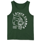 State Champs - Panther (Green) (Tank Top) [入荷予約商品]