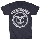 Yellowcard - Logo (Heather Navy) [入荷予約商品]