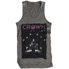 Crown The Empire - Masks (Graphite Heather) (Tank Top) [入荷予約商品]