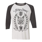 Fit For A King - The End (White/Grey) (Baseball) [入荷予約商品]