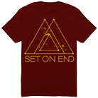Set On End - Gold Space (Maroon) [入荷予約商品]