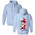 Polyphia - Fallen Angels (Light Blue) (Hoodie) [入荷予約商品]