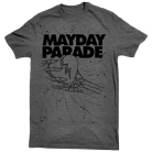 Mayday Parade - Crushed Heart (Grey) [入荷予約商品]
